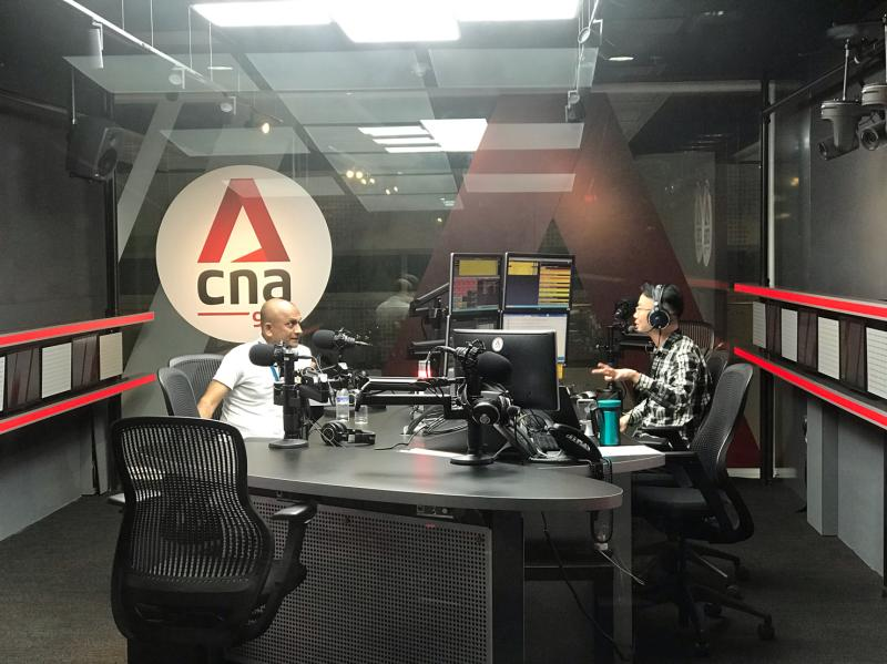 On The Radio: Anil David on CNA938 Live