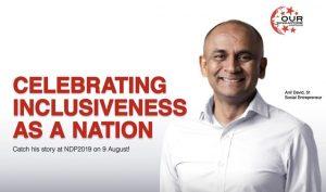 NDP 2019: Anil David's Heartwarming Story