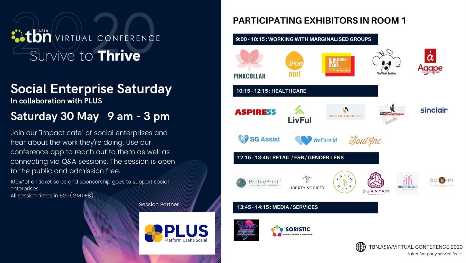 TBN Asia Conference 2020: Social Enterprise Saturday