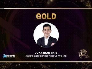 Agape's CFO/CPO Jonathan Thio Wins HR Award